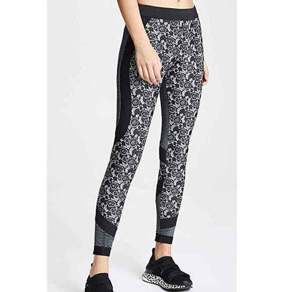 Adidas by Stella McCartney Pants - Stella McCartney Run Printed Leggings size XS